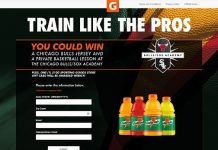 Gatorade Be Like Mike Sweepstakes at Jewel-Osco (GoTrainLikeThePros.com)