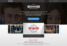 XfinitySweepstakes.com: XFINITY Watchathon Sweepstakes