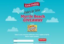 Little Debbie Fig Bar Myrtle Beach Giveaway