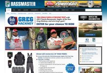 Bassmaster's Fish with Greg Hackney Sweepstakes