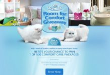 Scotties Room for Comfort Giveaway
