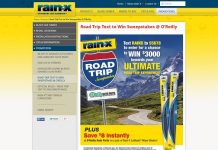 Rain-X Road Trip Text To Win Sweepstakes