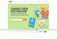 Coupons.com Choose Your Destination Sweepstakes
