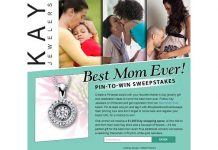Kay Jewelers Best Mom Ever Pin-to-Win Sweepstakes
