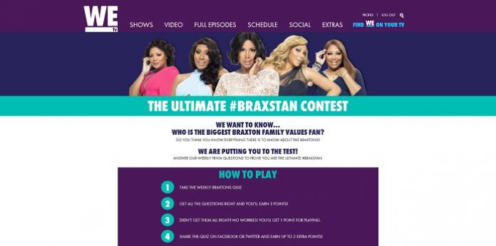 WEtv Ultimate #BraxSTAN Promotion