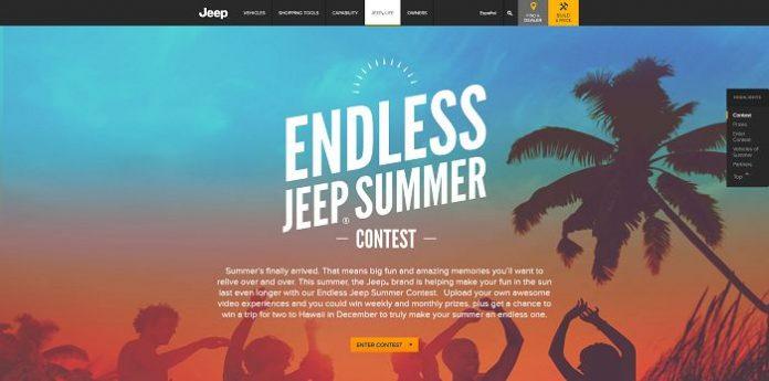 Endless Jeep Summer Contest (Jeep.com/Summer)