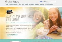 EllenTube.com/SoDelicious - Ellen's Summer Lovin' $10,000 Video Contest