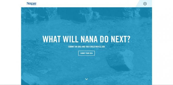What Will Nexcare Nana Do Next Contest (Nexcare.com/Nana)
