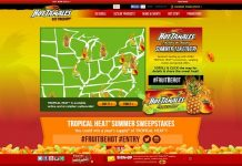Hot Tamales Tropical Heat Summer Sweepstakes