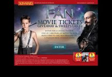 Sun-Maid Back to School Movie Ticket Giveaway