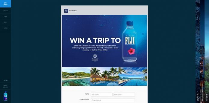 FIJI Water Win a Trip to Fiji Sweepstakes