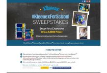 #KleenexForSchool Sweepstakes
