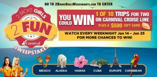 2 Broke Girls 2 Fun Sweepstakes