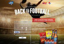 Bud Light 2015 Back To Football Sweepstakes
