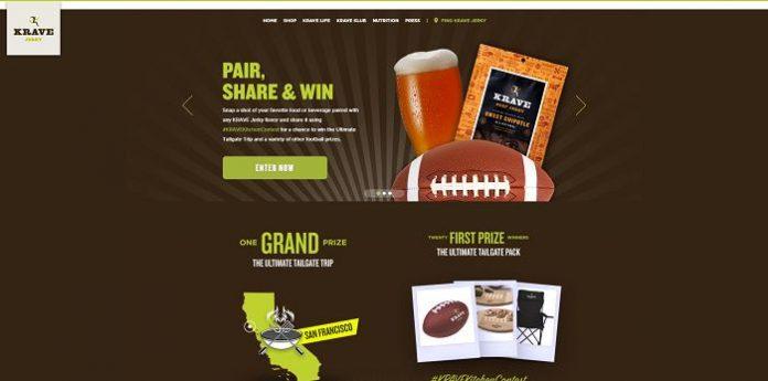KRAVE Jerky Pair, Share, Win Contest (KraveJerky.com/PairShareWin)