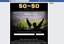 Marriott50to50.com - Marriott Rewards 50 to 50 Sweepstakes