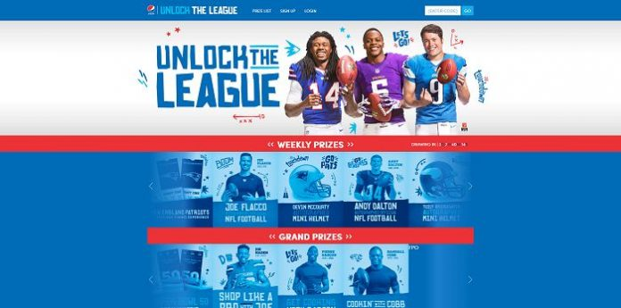 UnlockTheLeague com - Pepsi Unlock the League Sweepstakes