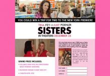 MarieClaire.com/Sisters - Marie Claire Sisters Premiere Trip Sweepstakes