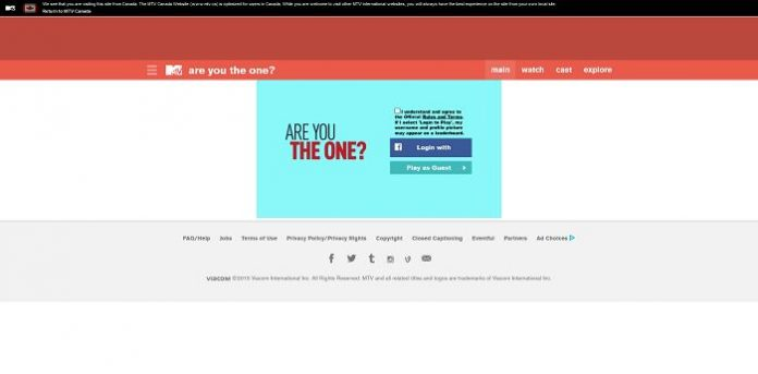 MTV Are You the One Trivia Game Sweepstakes
