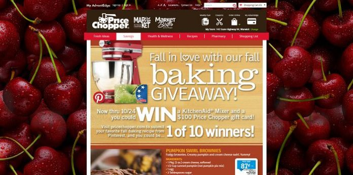Price Chopper Fall Baking Giveaway
