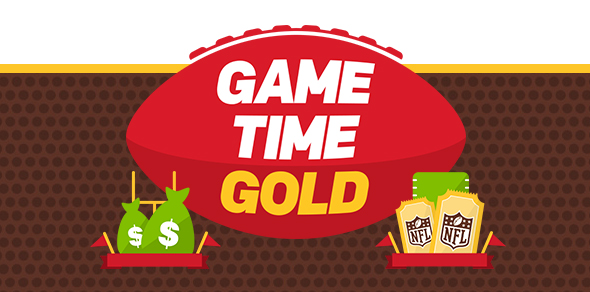 Game Time Gold at McDonald's
