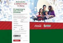Dunkin' Donuts Christmas Town Instant Win Game (BuschGardensSweeps.com)
