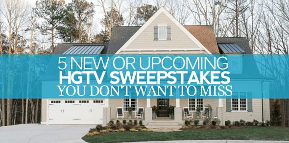 Hgtv sweepstakes $25 000 giveaway