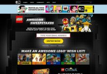 CartoonNetwork.com/LegoSweepstakes - LEGO Awesome Sweepstakes