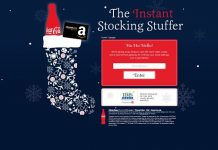 Coca-Cola Instant Stocking Stuffer Sweepstakes