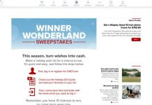 CNET Winter Wonderland Sweepstakes