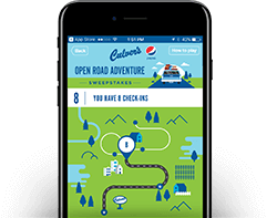 Culver's Gift Of Adventure Sweepstakes