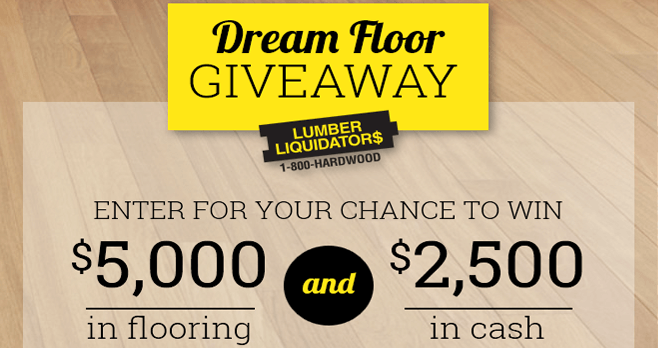 Win flooring sweepstakes