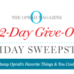 Oprah 12-Day Holiday Giveaway Sweepstakes 2016 (Oprah.com/12Days)