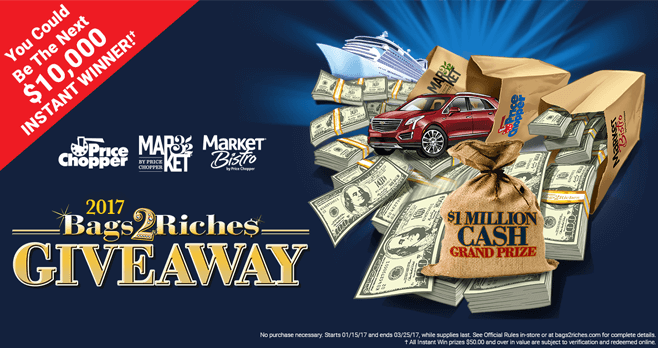 Bags2Riches.com: Price Chopper Bags2Riches 2017 Giveaway
