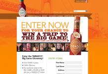 TABASCO Big Game 2016 Giveaway