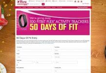 TopsFriendlyMarkets.com 50 Days Of Fit Sweepstakes