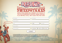 RED VINES Stagecoach Country Music Festival Sweepstakes