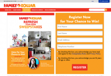 FamilyDollar.com/RefreshYourHome - Family Dollar Home Refresh Sweepstakes