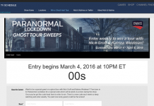 DestinationAmerica.com/LockdownSweeps: Destination America's Paranormal Lockdown Sweepstakes