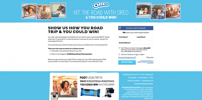 Discover The OREOOpenRoad.com Sweepstakes