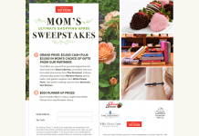 America's Test Kitchen Mom's Ultimate Shopping Spree Sweepstakes