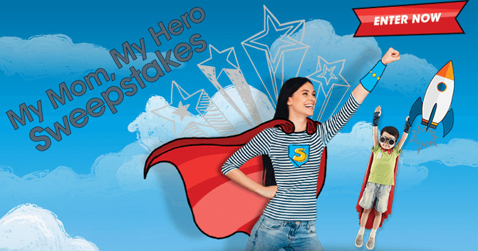 Valpak My Mom, My Hero Sweepstakes