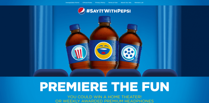 Premiere The Fun With This Pepsi Sweepstakes