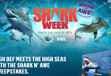 Cox.DiscoveryPhotoSharked.com - Cox & Discovery Shark N' Awe Sweepstakes
