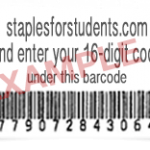 staplesforstudents.com receipt sample