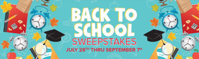 Marsh.net/B2S - Marsh Supermarkets Back To School Sweepstakes 2016