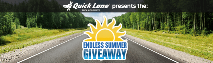 QuickLaneEndlessSummer.com - Quick Lane Endless Summer Sweepstakes 2016