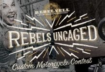 Rebels Uncaged Custom Motorcycle Contest 2017