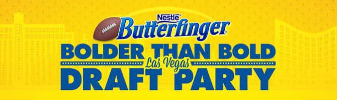 Butterfinger.com/Draft - Butterfinger Bolder Than Bold Las Vegas Draft Party Sweepstakes