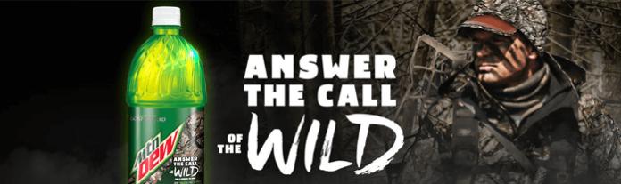 MountainDewTakeItOutside.com - Mtn Dew Answer The Call Of The Wild Sweepstakes